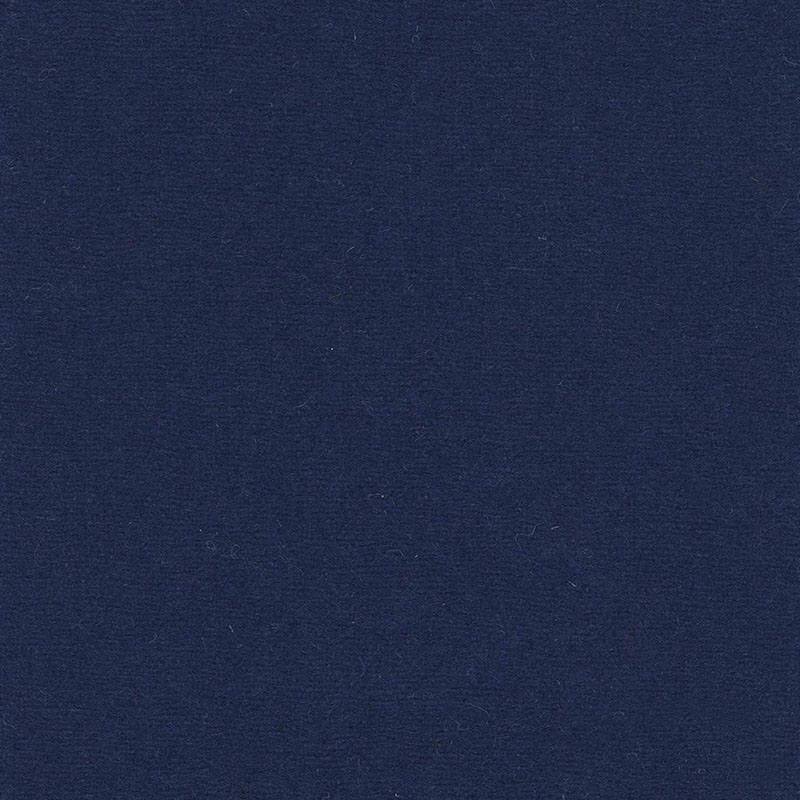 Sample of Plimsoll Blue from the Olicana Textiles 100% Wool Melton collection